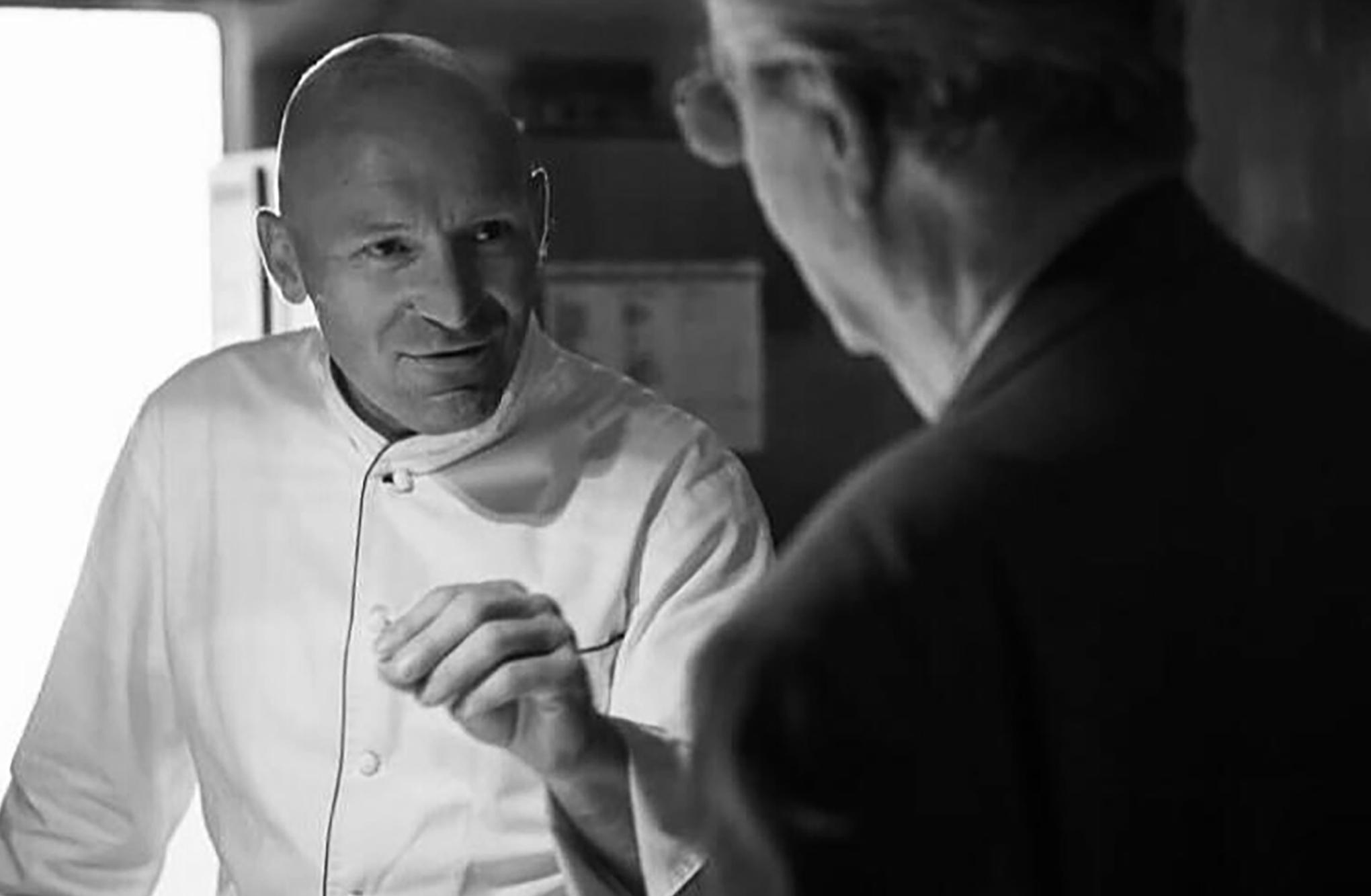 Chef Alfio Ghezzi con chef Marchesi