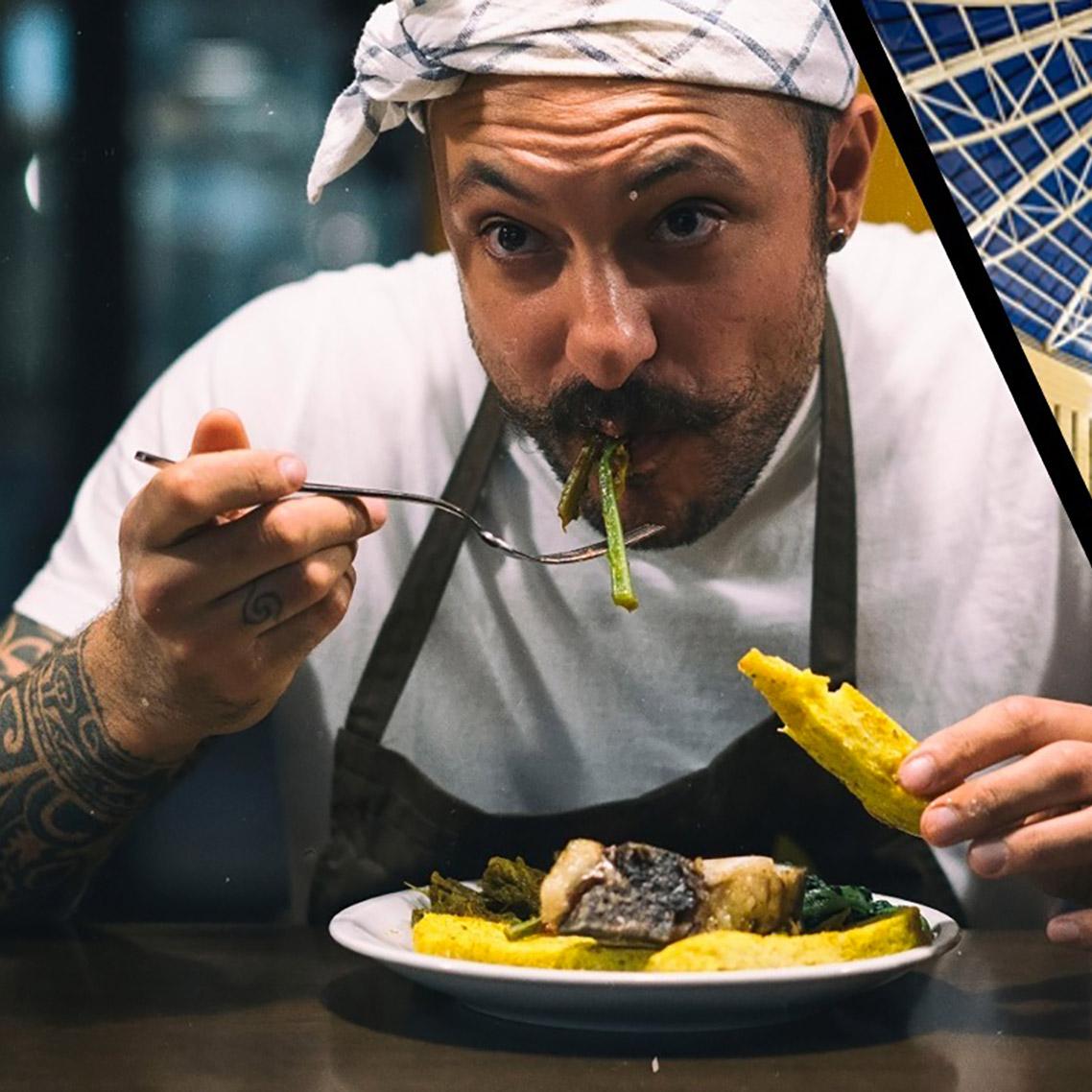 Chefs Diego Rossi e Alfio Ghezzi in una cena a 4 mani